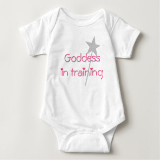 Goddess in training baby baby bodysuit