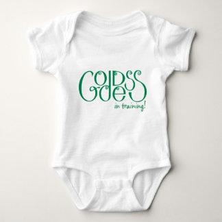 Goddess in Training green Infant  T-shirt
