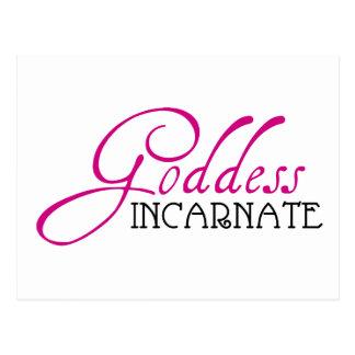 Goddess Incarnate Postcard