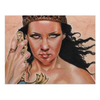 Goddess Isis Postcard