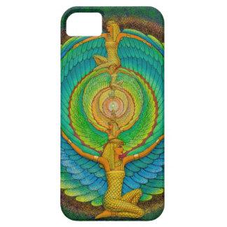 Goddess Isis Wings Mandala Art iPhone 5 Case