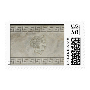 Goddess Juno Roman Motif stamp