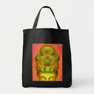 Goddess Kuan Yin's Crown Tote Bag