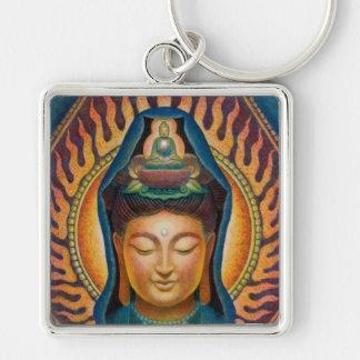 Goddess Kuan Yin's Flame Keychain