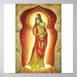 Goddess Kuan Yin's Lotus Poster