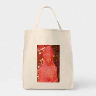 Goddess Kwan Yin Statue Tote Bag