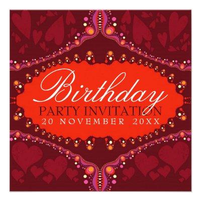 Goddess Love Diva Birthday + all Event Invitations