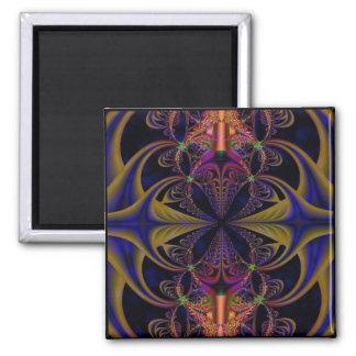 Goddess Medusa Square Magnet