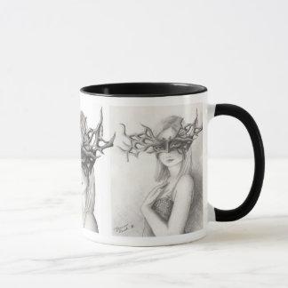 Goddess Mug Pagan Mug Mask Mug Watchful Eyes Mug