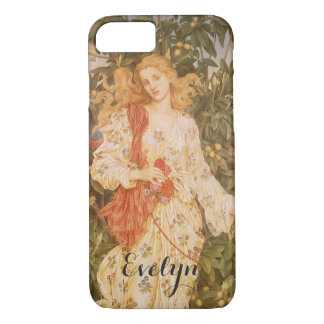 Goddess of Blossoms and Flowers, Flora by Morgan iPhone 7 Case