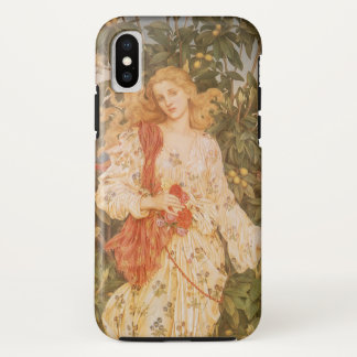 Goddess of Blossoms and Flowers, Flora by Morgan iPhone X Case