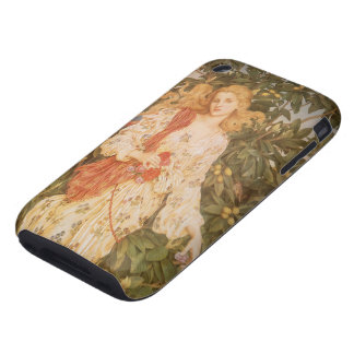 Goddess of Blossoms and Flowers, Flora by Morgan Tough iPhone 3 Case
