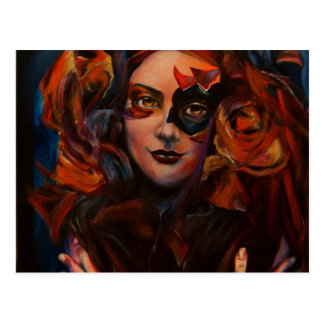 Goddess of Chastity Postcard