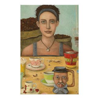 Goddess Of Coffee Stationery