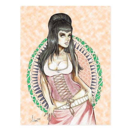 Goddess of DESTINY Postcard