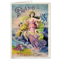 Goddess of Farm Crops, Greeting Card