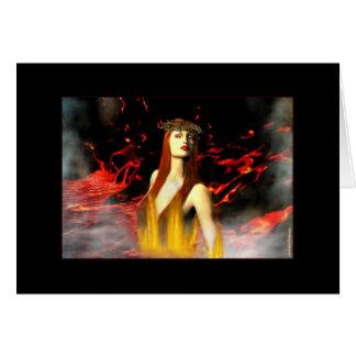 Goddess of Fire Card