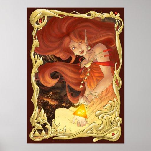 Goddess of Fire Poster