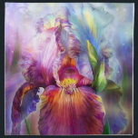 "Goddess Of Healing Art Napkins<br><div class=""desc"">Iris, goddess of healing, a gift from the Universe, unfolding. I breathe in your essence, that is heaven scent. I gaze in wonder at your glory that glows, a living rainbow in all the colors of the Chakras. I open my body, mind, and spirit to your healing embrace. You gently...</div>"