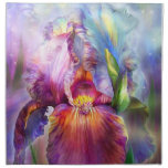 Goddess Of Healing Art Napkins<br><div class='desc'>Iris, goddess of healing, a gift from the Universe, unfolding. I breathe in your essence, that is heaven scent. I gaze in wonder at your glory that glows, a living rainbow in all the colors of the Chakras. I open my body, mind, and spirit to your healing embrace. You gently...</div>