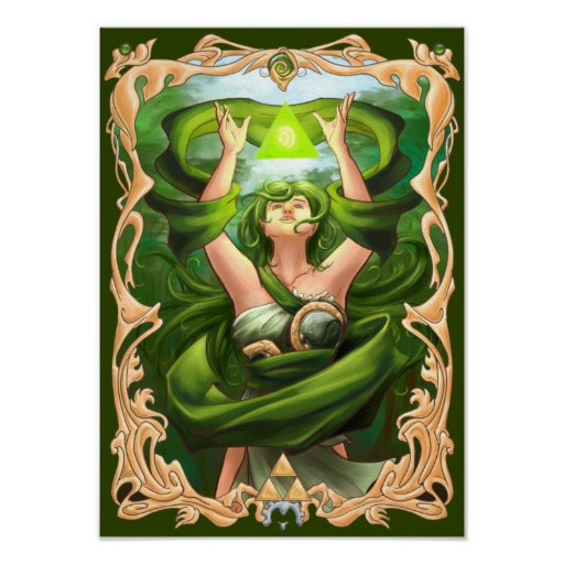 Goddess of Life Poster