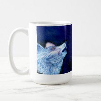 Goddess of Life, Wolf Art Coffee Mug