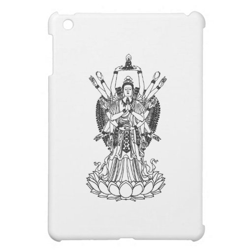 Goddess Of Mercy Cover For The iPad Mini