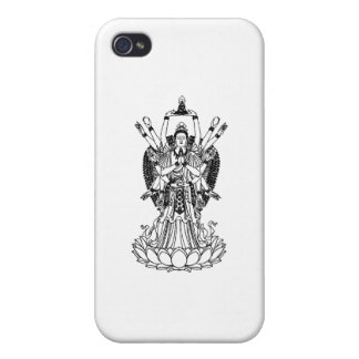 Goddess Of Mercy iPhone 4 Cover