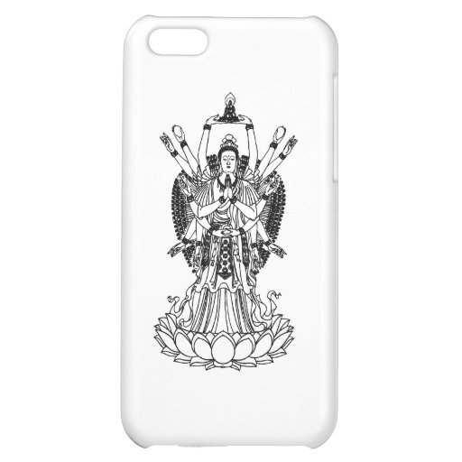 Goddess Of Mercy Cover For iPhone 5C
