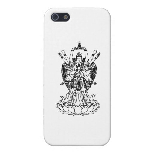Goddess Of Mercy Cover For iPhone 5