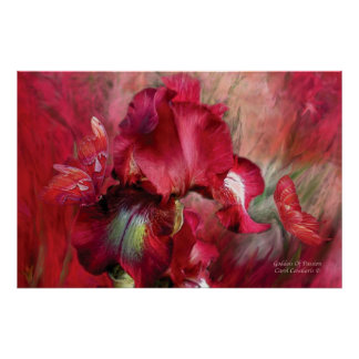 Goddess Of Passion Art Poster/Print