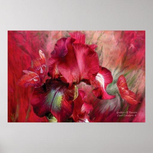 Goddess Of Passion Art Poster/Print