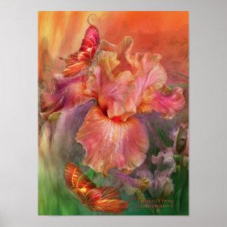 Goddess Of Spring Art Poster/Print Poster