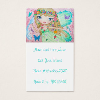 """Goddess of Spring"" Business Card"