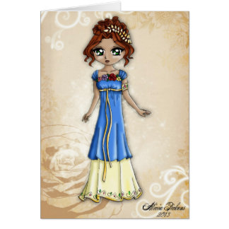 Goddess of Spring Greeting Card