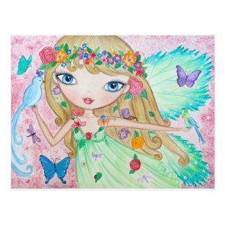 """Goddess of Spring"" Postcard"