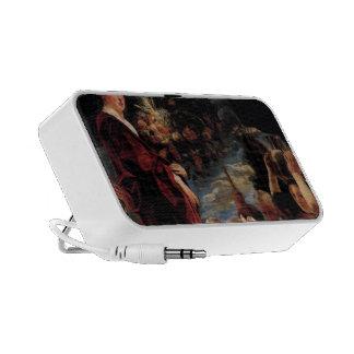 Goddess of the Harvest by Jacob Jordaens Portable Speakers