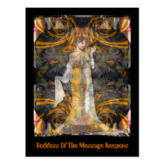 Goddess Of The Message Keepers Postcard