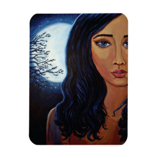 Goddess Of The Moon & Stars Magnet