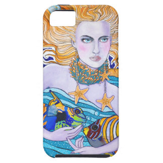 Goddess of the Sea iPhone 5 Cases