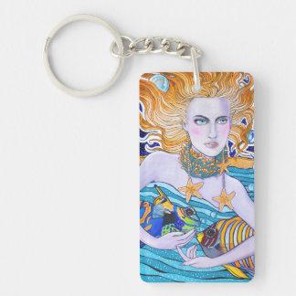 Goddess of the Sea Keychain