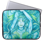 Goddess of the Sea Laptop Computer Sleeves
