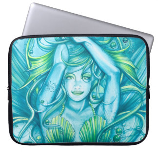 Goddess of the Sea Laptop Sleeves