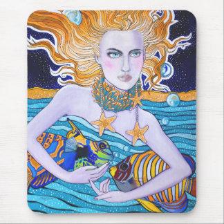 Goddess of the Sea Mousepad Mouse Pads