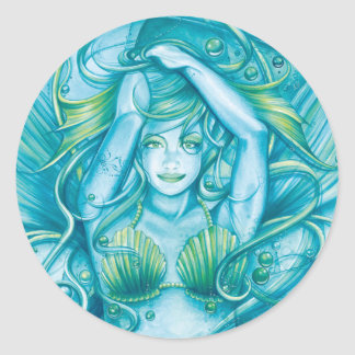Goddess of the Sea Stickers
