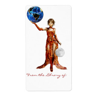 Goddess of the Universe Bookplate