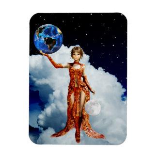 Goddess of Universe Vinyl Magnet