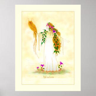 Goddess of Wisdom Poster