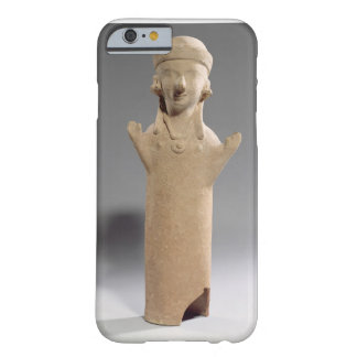 Goddess or worshipper with raised arms, figurine, barely there iPhone 6 case