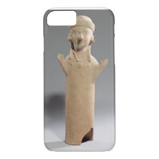 Goddess or worshipper with raised arms, figurine, iPhone 7 case
